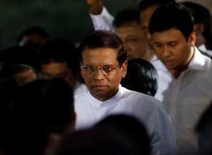Hold firm: Maithripala Sirisena Reuters
