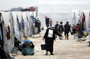 Bearing the brunt: Turkey, Jordan and Lebanon have taken the bulk of refugees in the region. EPA/SEDAT SUNA